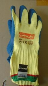 New Made With Kevlar Rubber Cut Resistant Gloves Fishing Animal Cat Dog 3 Pr