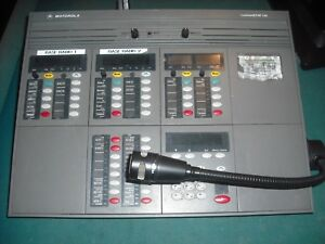 Motorola Dispatch Console Police Command Star Lite With Mic 3188a