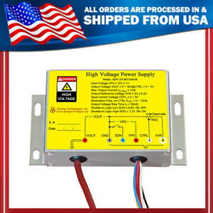 High Voltage Power Supply 3kv 1ma Shutdown Function Linear Regulation New Us
