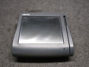 Micros Workstation 4 System Unit 500614 001 tested