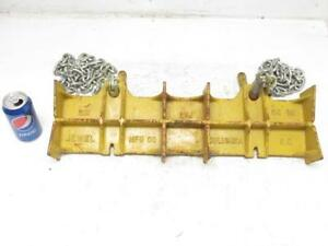 Jewel Mfg Co No 2d Pipe Welding Chain Clamp Vise 24 Long