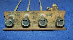 1948 49 50 51 52 Ford Pickup Used Heater Control Knobs And Cable Assembly