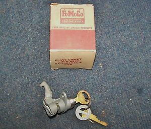 1949 1950 Ford Nos Glove Compt Lock Assy With Keys In Original Box