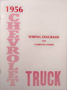 1956 Chevrolet Truck Wiring Diagrams