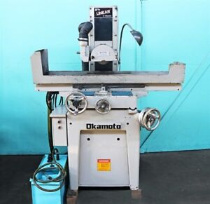 Okamoto 6 X 18 Linear Hand Feed Surface Grinder Linear 618