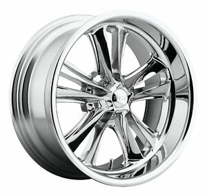 Cpp Foose F097 Knuckle Wheels Rims 17x7 Front 18x9 5 Rear 5x4 5 Chrome