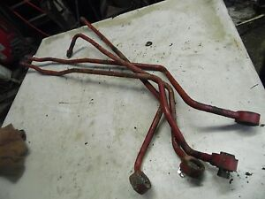 International 606 Tractor Miscellaneous Hydraulic Line 5