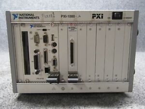 National Instruments Ni Pxi 1000 8 slot Chassis W Pxi 8156 Drive