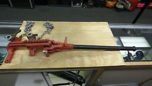 Ridgid C 1071 Chain Vise Soil Pipe Wrench Free Shipping