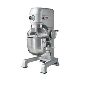 Eurodib M40a 220etl 40qt Gear Driven Planetary Mixer 3 Speeds 2 Hp