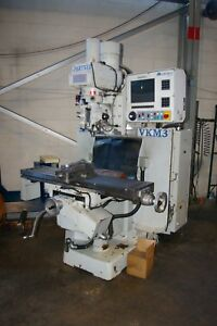 Milltronics vkm3 Cnc 3 Axis Vertical Mill Centurion 7 Pc Based 3 Axis Cnc Cont