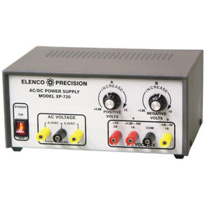 Bench Power Supply Kit 3 Fully Regulated Supplies