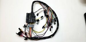1961 61 Chevy Impala Under Dash Wiring Harness With Fuse Box Manual Transmission