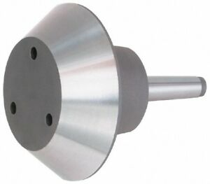 Bison 7 573 0504 Steel Live Center Point W 5mt Taper Pipe Head Point Style