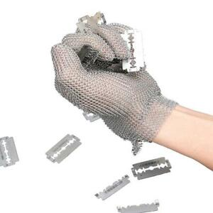 Stainless Steel Mesh Cut Resistant Chain Mail Protective Glove Kitchen Safe H2b5