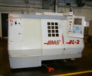 Haas hl2 Cnc Turning Center Synchronous Tapping Programmable Tailstock