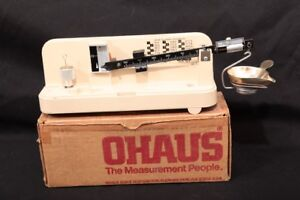 Ohaus Reloading 51 Gram Max Bullet & Powder Balance Beam Scale In Factory Box