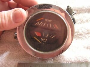 Vintage Vdo Gas Temperature Gauge