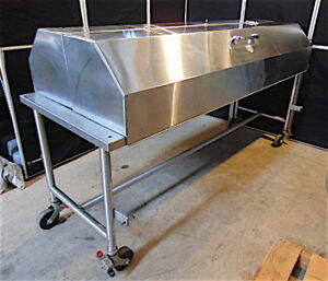 Lipshaw Cadaver Autopsy Table Morgue Table With Key 87 Long X 31 Wide S3494