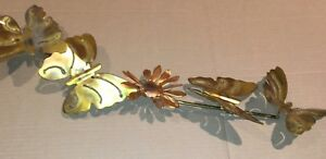 Mid Century Modern Butterfly Wall Art Metal Brutalist Sculpture