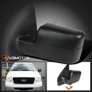 2004 2006 Ford F150 Manual Non Powered Foldable Side Mirror Left Driver Side
