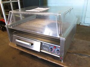 star Hd Commercial 36 Counter top nsf Hot Dog Grill roller W dome 208 240v