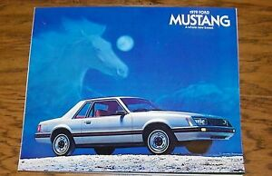 1979 Ford Mustang Brochure