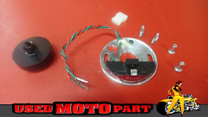 Mallory A554 Breakerless Ignition Conversion Kit Harley Electra Glide 1970 1975