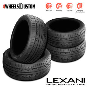 4 X New Lexani Lxuhp 207 225 45zr17 94w All Season High Performance Tires