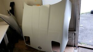 85 89 Corvette C4 Hood White Nice Used 1985 1986 1987 1988 1989
