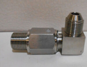 Skclpfp3 Hydraulic Swivel Joint Ss 3 8 Mip X 3 8 G Pf Fitting
