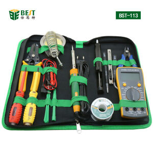 Household Professional Tool Screwdriver Soldering Iron Multimeter For Phone Pc