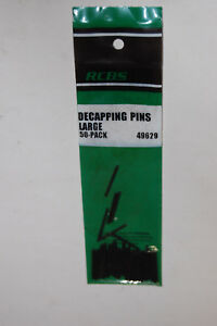 RCBS Decapping Pins Large 50-Pack