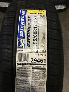 1 New 195 60 15 Michelin Defender Xt Tire