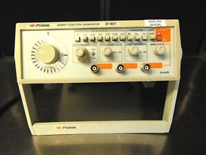Protek B 801 Sweep Function Generator Tested With Power Supply Rh535