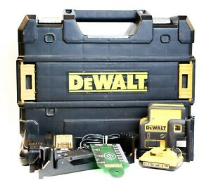 ma5 Dewalt Dw085lg 12 volt Lithium Ion 5 spot Green Laser Level Kit