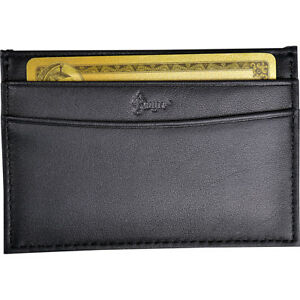 Royce Leather Minimalist Credit Card Case Wallet In Business Accessorie New