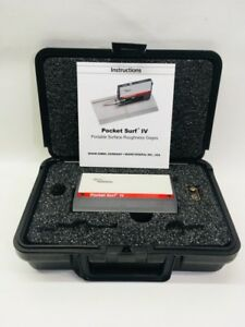 Mahr Federal Pocket Surf Iv Portable Surace Roughness Tester gage In cmp001472