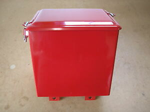 Ih Farmall A Av B Bn New Battery Box With Lid 18 17 228