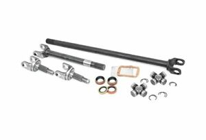 Rough Country Chromoly Upgraded Front Axle Shafts Dana 30 Rcw24110