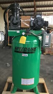 Speedaire Electric Air Compressor 2 Stage 7 5hp 24cfm 35wc47