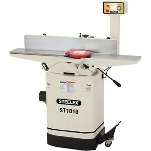 Steelex St1010 6 inch Jointer W mobile Base Pedestal Switch