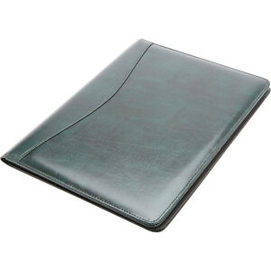 Royce Leather Aristo Padfolio Green Business Accessorie New