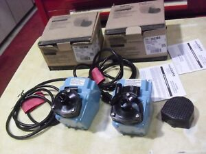 Two Little Giant 2e Series Submersible Pumps Model 502203 Sold As Is