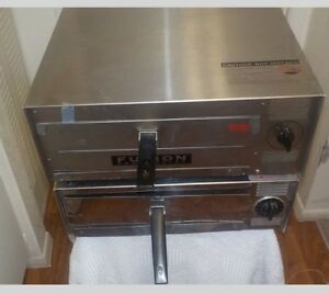 Two Fusion Commercial Counter Top Pizza Snack Ovens Free Ship