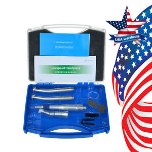 Us Nsk Style Dental Pana Max High Speed Ex203c Low Speed Handpiece Kit 2holes