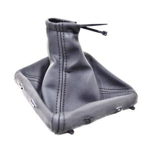 For Vauxhall Opel Vectra C 02 08 Gear Shift Stick Gaiter Boot Black Leather P16