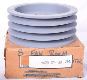 Electron Qd V belt Pulley 4a70b74 Sk 4 Groove