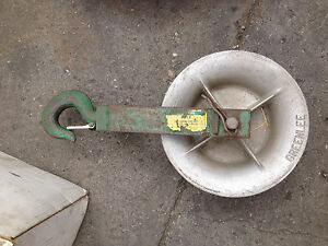 Greenlee Small Wheel Roller Wire Puller r