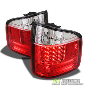 94 04 Chevy S10 Gmc Sonoma Philips led Perform Red Clear Tail Lights Left right